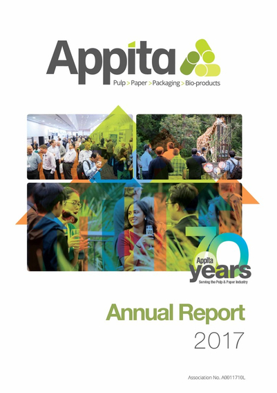 2017 Appita Annual Report Cover